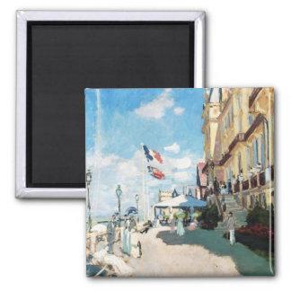 The Hotel of Roches Noires, Trouville Monet Claude Square Magnet