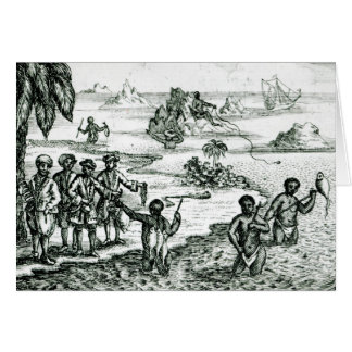 The Hottentot Manner of Fishing Card