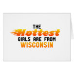 The hottest girls are from Wisconsin Card