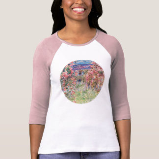 The House among the Roses by Claude Monet T-Shirt
