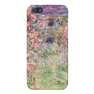 The House among the Roses, Claude Monet Cover For iPhone 5/5S