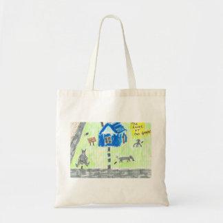 The House at Poo Corner Budget Tote Bag