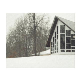 The House Canvas Print