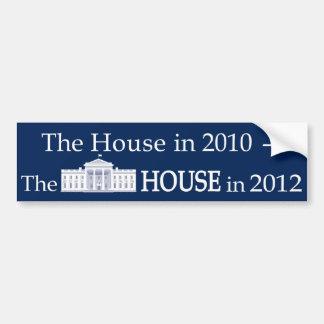 The-House-in-2010 Car Bumper Sticker