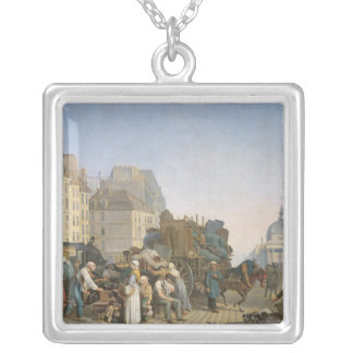 The House Movers, 1840 Silver Plated Necklace