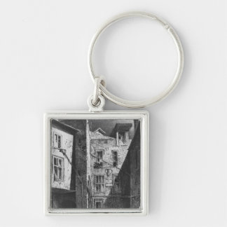 The House of Heloise and Abelard Key Ring