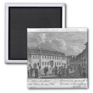 The house of Johan Wolfgang von Goethe  in Magnet