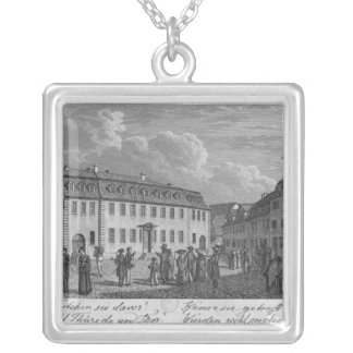 The house of Johan Wolfgang von Goethe  in Silver Plated Necklace