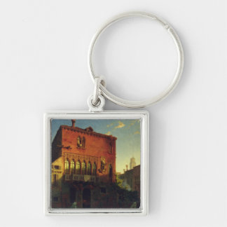 The House of Othello, the Moore in Venice, 1856 Keychain