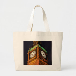 The Houses of Parliament clock tower Westminster Tote Bags