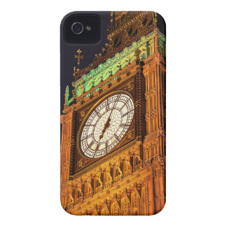 The Houses of Parliament clock tower Westminster iPhone 4 Case