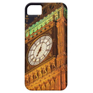 The Houses of Parliament clock tower Westminster iPhone 5/5S Case