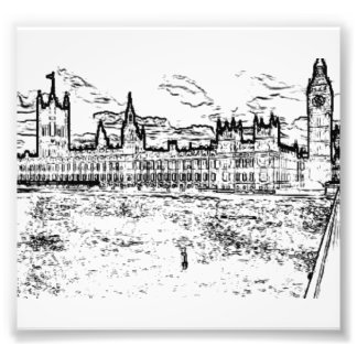 The Houses of Parliament, Westminster, London Photo Print