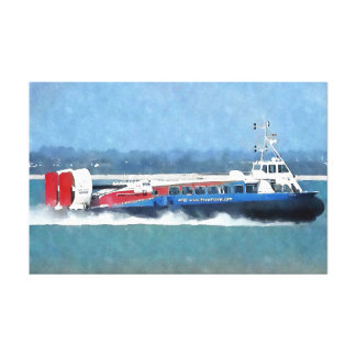The Hovercraft Canvas Print