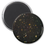 The Hubble Ultra Deep Field 6 Cm Round Magnet
