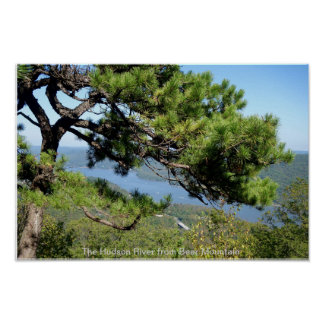 The Hudson River from Bear Mountain Poster