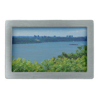 The Hudson River with NYC Belt Buckles