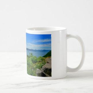 The Hudson River with NYC Coffee Mug