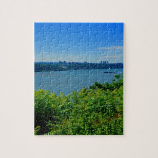 The Hudson River with NYC Jigsaw Puzzle