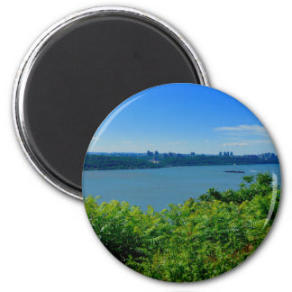 The Hudson River with NYC Magnet