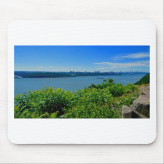 The Hudson River with NYC Mouse Pad