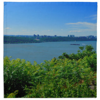 The Hudson River with NYC Napkin