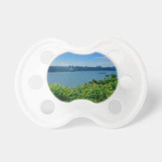 The Hudson River with NYC Pacifiers