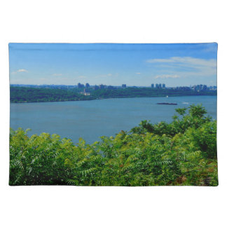 The Hudson River with NYC Placemat