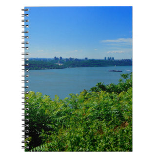 The Hudson River with NYC Spiral Notebooks