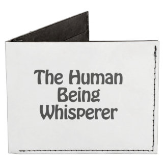 the human being whisperer