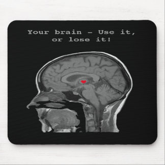 The Human Brain - Mousepad