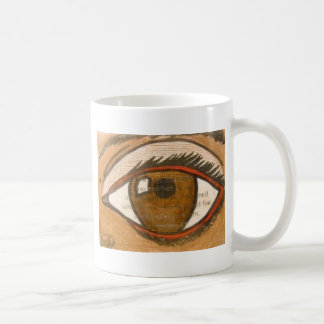 The Human Eye Basic White Mug