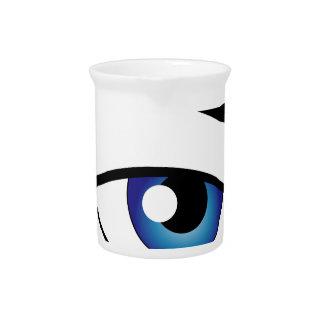 The Human Eye Beverage Pitchers