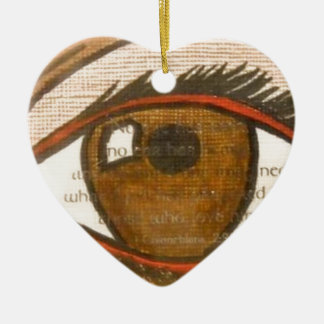 The Human Eye Christmas Tree Ornaments