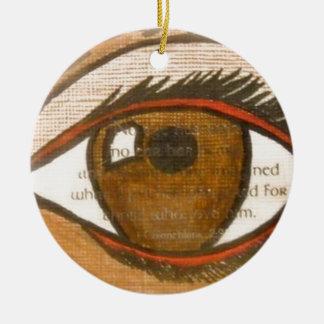The Human Eye Christmas Tree Ornament