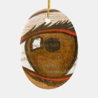 The Human Eye Christmas Ornaments