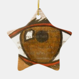 The Human Eye Ornament