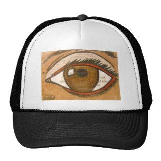 The Human Eye Mesh Hat