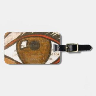 The Human Eye Luggage Tags