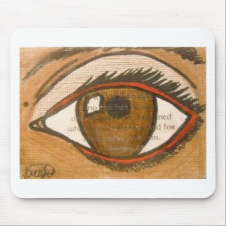 The Human Eye Mousepad