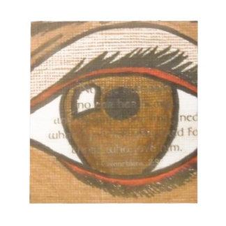 The Human Eye Notepad