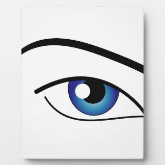 The Human Eye Photo Plaque