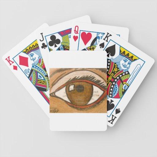 The Human Eye Bicycle Card Decks