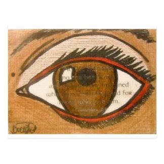 The Human Eye Postcard
