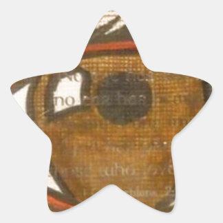 The Human Eye Star Sticker