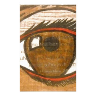 The Human Eye Custom Stationery