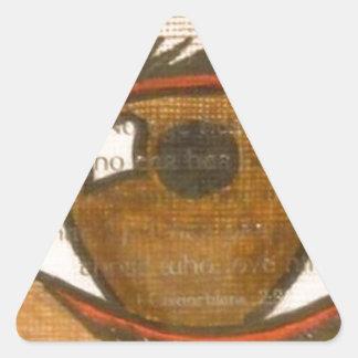 The Human Eye Triangle Sticker
