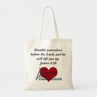 The Humble Heart Small Tote Bag