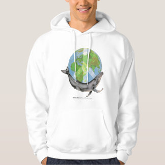 The Humpback Whale peace design Hoodie