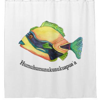 The Humuhumu Shower curtain